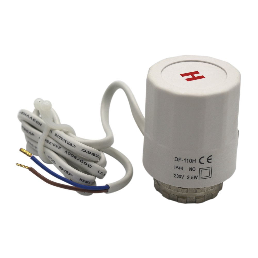 ME315 thermostatic electric actuator for heating systems